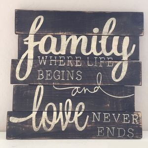 Family - where life begins and love never ends. #Family #Quotes