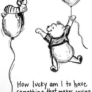 How lucky am I to have something that makes saying goodbye so hard. #Friendship #Quotes