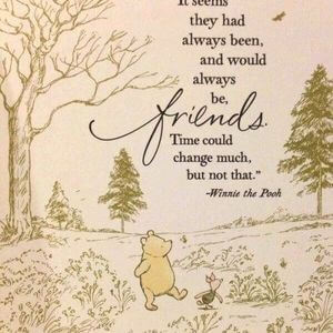 It seems they had always been, and would always be, friends. Time could change much, but not that. #Friendship #Quotes