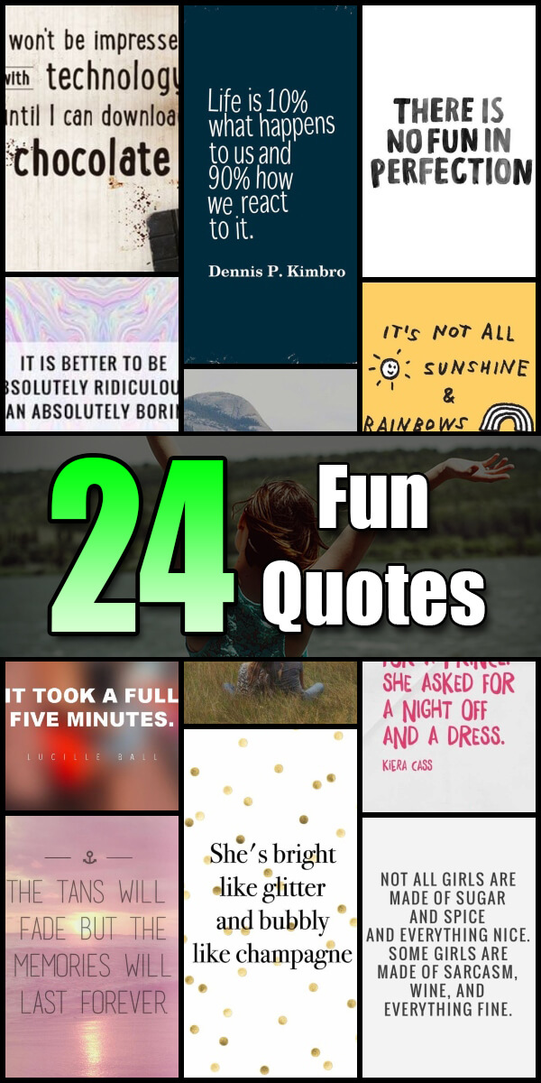 24 Fun Quotes - Quote Pond